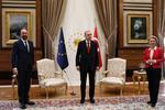 Michel, Erdogan si von der Leyen