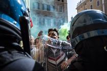 Proteste anti-restrictii in Italia