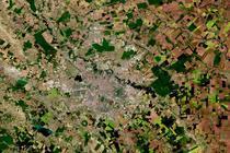 Bucurestiul vazut din satelit