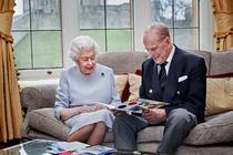 Regina si printul Philip