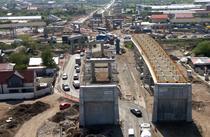 Pasajul Domnesti - in constructie - mai 2021