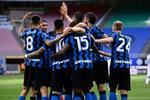 Bucuria jucatorilor de la Inter Milano