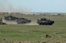Blindatele românești în luptă la poligonul de la Smârdan