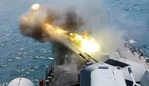 Exercitiu Militar cu targeri de lupta in Marea Neagra
