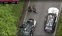 Momentul in care Pieter Serry este lovit cu masina
