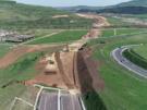 Autostrada Transilvania, la vest de Cluj Napoca