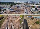 Pasajele in constructie pe Centura de Sud a Capitalei