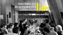 Masterclass de scenaristică cu Matthieu Taponier