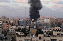 Bombardamente israeliene în Gaza