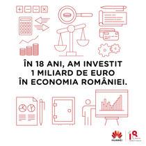 Investiții ale Huawei în România