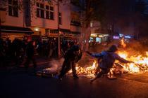 Protest de 1 mai in Berlin