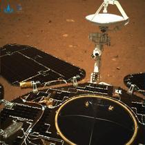 Roverul chinez Zhurong pe Marte