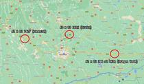 Trei noduri rutiere pe autostrazile care ies din Bucuresti