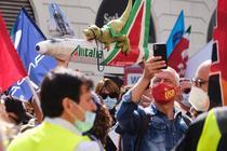 Desfiintarea Alitalia a provocat proteste in Peninsula