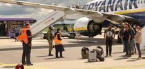 Avionul deturnat de Belarus pe aeroportul din Minsk