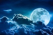 Luna foarte stralucitoare