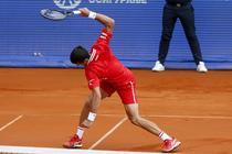 Novak Djokovic si nervii varsati pe racheta