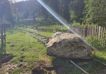 Linie ferata Moldovita, blocata de localnici