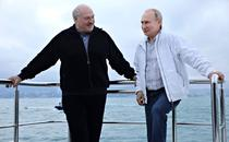 Vladimir Putin l-a scos pe omologul sau bielorus Alexandr Lukasenko la o plimbare cu iahtul