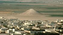 Movila funerara de la Tell Banat inainte ca zona sa fie inundata de construirea unui baraj