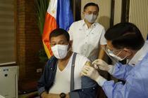 Rodrigo Duterte s-a vaccinat cu vaccinul Sinopharm