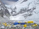 Everest - tabara de baza