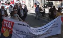 Protest la Porto
