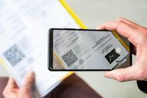 Scanarea unui certificat digital covid