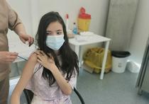 Copil vaccinat anti-Covid-19