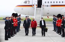 Angela Merkel la summitul G7 din Anglia