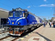 Tren in gara la Constanta