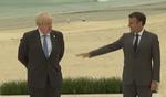 Boris Johnson si Emmanuel Macron