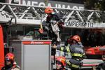 Interventie a pompierilor in Bucuresti