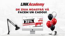 Marea ofertă aniversară la LINK Academy: reducere de peste 35% + pachet BONUS pentru școlarizare gratuită pe viață