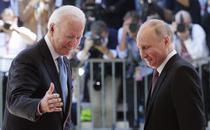 Joe Biden si Vladimir Putin la summitul de la Geneva