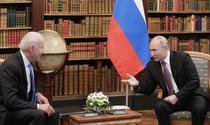Biden si Putin discutand la Geneva