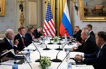 Biden si Putin alaturi de delegatia lor la Geneva