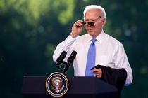 Joe Biden la conferinta de presa