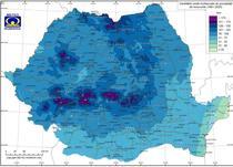 Media multianuala a precipitatiilor in iunie