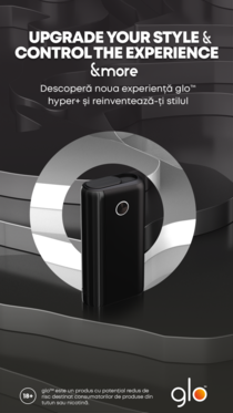 glo hyper +, cel mai nou dispozitiv cu potențial de risc redus de pe piață