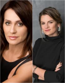 Nadia Comăneci și Elisabeta Moraru
