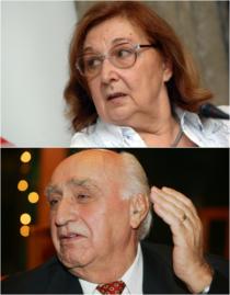 Magda Mihăilescu și Enache Hărăbor