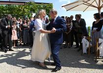 Fosta sefa a diplomatiei austriece Karin Kneissl a declansat un val de critici in 2018 dupa ce l-a invitat pe Vladimir Putin la nunta sa