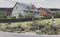 Tornada in sudul Belgiei