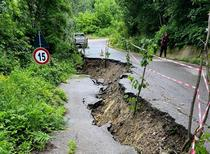 Drum judetean avariat in Prahova