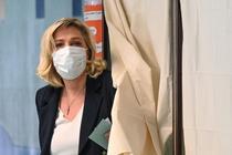 Marine Le Pen, la vot