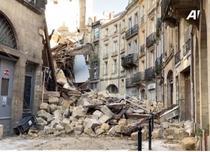 Doua imobile se prabusesc in Bordeaux (captura de ecran)