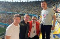 Gica Popescu, la tribuna a II-a pe Arena Nationala