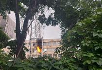 Incendiu spital de copii Iasi