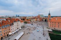 Centrul vechi din Varsovia